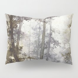 Wet Morning in the Forest Pillow Sham