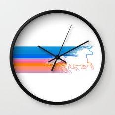 Unicorn Run Wall Clock