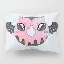 Batty Donut Pillow Sham