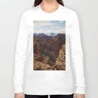 marble Long Sleeve T-shirts featuring Marble Canyon by Kevin Russ