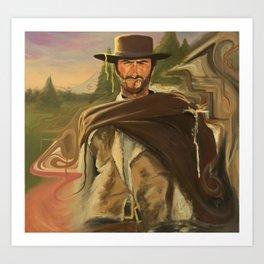 Clint Fucking Eastwood Art Print