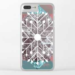 Flake Clear iPhone Case