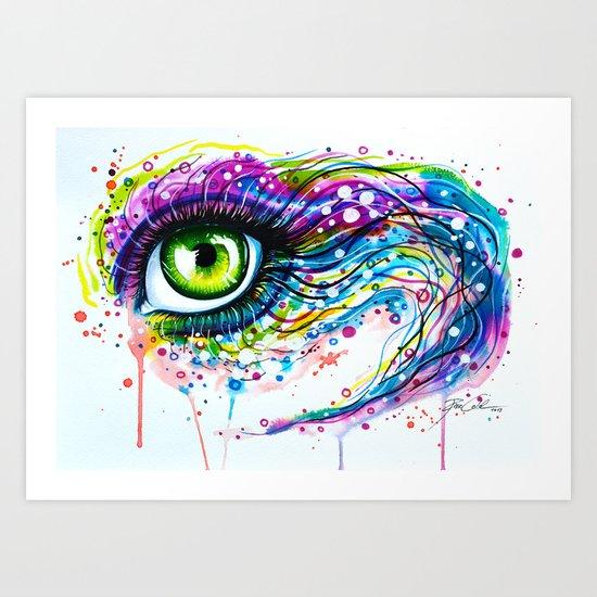 """Colours of joy"" Art Print"