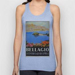 Italy Bellagio Lake Como Unisex Tank Top