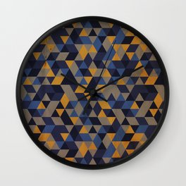 Ravenclaw pattern Wall Clock