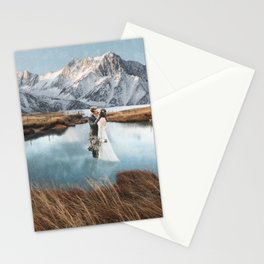 The Wedding in the Pond Stationery Cards