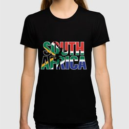 South Africa Cricket Kit : 2019 South African International Fans Gift T-shirt