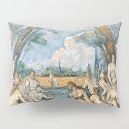 Paul Cézanne - Les Grandes Baigneuses (The Large Bathers) Pillow Sham