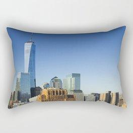 World Trade Center Freedom Tower NYC Rectangular Pillow