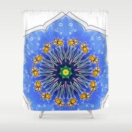Mandala fishes Shower Curtain