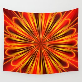 Abstract floral 136 Wall Tapestry