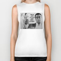 mad men Biker Tanks featuring Mad Men by Magdalena Almero