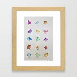 Little Birdies Framed Art Print