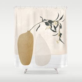Couple Of Vases Shower Curtain