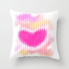 Heart! Throw Pillow