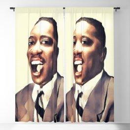 Chuck Willis, Music Legend Blackout Curtain