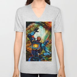 Colorful Scout Unisex V-Neck