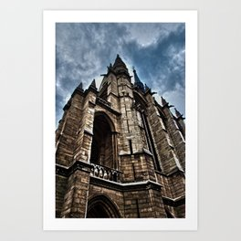 Chapelle Art Print