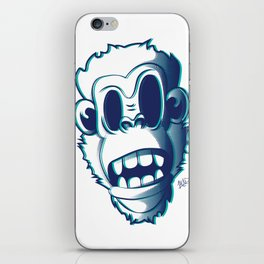 Pendemonium Gorilla by Madelyn DiPasquale iPhone Skin