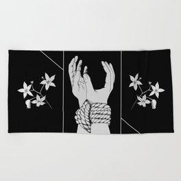 Tied & Nightshade Beach Towel