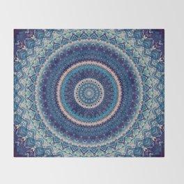 Mandala 477 Throw Blanket