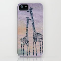 giraffes iPhone (5, 5s) Slim Case