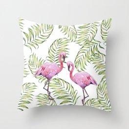 Flamingo  #society6 #buyart Throw Pillow