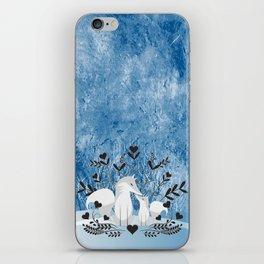 Arctic Fox Family iPhone Skin