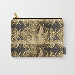Golden Threads Carry-All Pouch