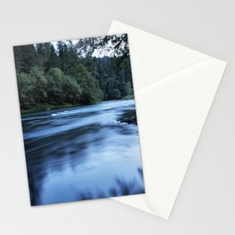 River Blue Stationery Cards