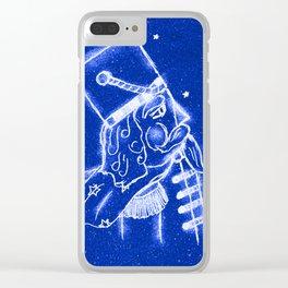 Nutcracker in Bright Blue Clear iPhone Case