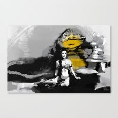 Leia and Jabba Canvas Print