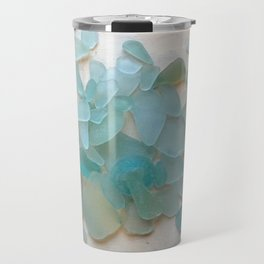 Ocean Hue Sea Glass Travel Mug