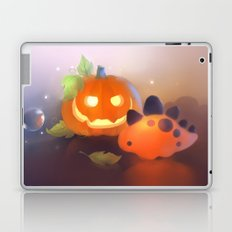 Pumpkin Dino Laptop & iPad Skin