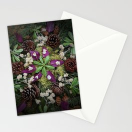 Nature Mandala: November Stationery Cards
