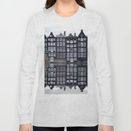 Amsterdam houses 1. Long Sleeve T-shirt