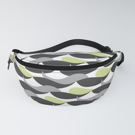 Abstract strokes Fanny Pack