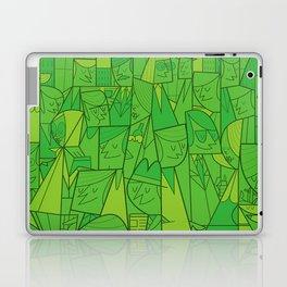 Citystreet (green version) Laptop & iPad Skin