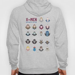 X-MEN BEFORE & AFTER Hoody