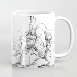 Promenade dans la montagne - Walking in the mountains Coffee Mug