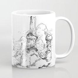 Promenade dans la montagne - Walking in the mountains Coffee Mug