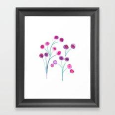 lady blooms Framed Art Print
