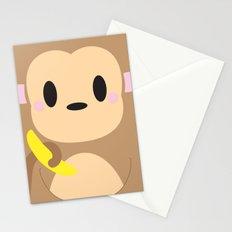 Monkey Block Stationery Cards