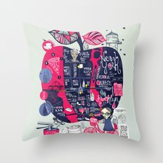 Fugetabout it! Throw Pillow