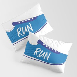 Running Shoes Pillow Sham