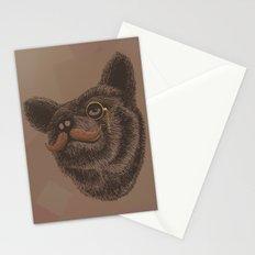Classy Bear Stationery Cards