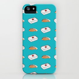 bento & salmon iPhone Case