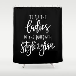 Style & Grace Shower Curtain