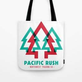 Pacific Rush Trees Tote Bag