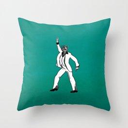 Saturday Night Cyberman Throw Pillow